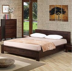 Queen Platform Bed – check various designs and colors of Queen Platform Bed on Pretty Home. Also checkQueen Mattress http://www.prettyhome.org/queen-platform-bed/
