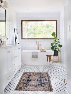 black and white modern farmhouse tile ideas.