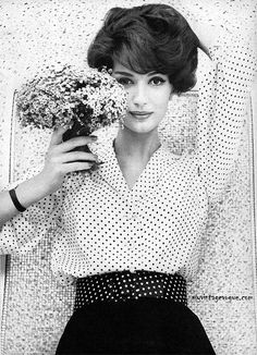 Spotty blouse, 1959