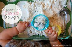 Gluten-free Cloud Dough :: Tinkerlab
