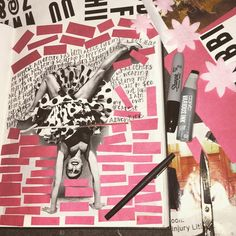 @nulls | Finding Myself | Season of Adventure | Get Messy Art Journal