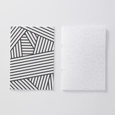 Evermade geometric notebooks
