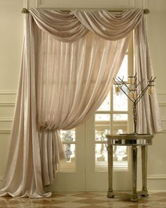 Types Of Curtains And Draperies Folded Triangle Scarf Window Window Scarf Valance Ideas Scarf Swag Window Curtains Scarf Window Treatments Scarf Valance Bed Bath And Breathtaking Scarf Window Treatments Window Treatments Scarf Curtains, Home Curtains, Window Scarf, Sheer Curtains, Country Curtains, Window Curtains, Layered Curtains, Brown Curtains, Yellow Curtains
