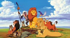 (Day 28) Since I'm a 90s kid it was RIDICULOUSLY difficult to choose ONE fave movie from the Renaissance   Age, but I ultimately decided on The Lion King.