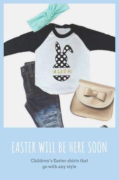cadddbd2 Easter Shirts, Easter Shirts for Girls, Bunny Easter Shirt, Monogrammed  Easter Shirt,