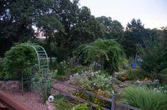Love love love the ornamental, but productive design of Dee Nash's garden! 'Niki Jabbour - The Year Round Veggie Gardener'