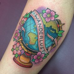 41 Beautiful Tattoos That Will Spark Your Travel Bug