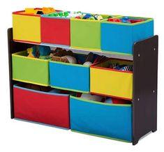 Dеltа Dеluxе Multі-Bіn Toy Organizer wіth Storage Bіnѕ