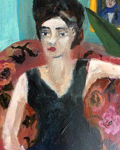 'The Conversation' (detail) by Sarah Raphael Balme