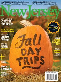 October 2016 Fall Day Trips - Autumn in the Garden State is a cornucopia of fun attractions (and tasty seasonal treats) for the whole family to enjoy.