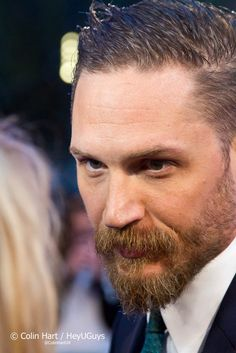 Tom Hardy attend the UK Premiere of 'Legend' at Odeon Leicester Square on September 3, 2015 in London, England.
