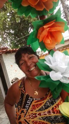 Flores de papel..meu aniversario 2015...JARDIM DAS FADAS!!!