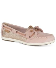 4be73578520 Sperry Women s Coil Ivy Sparkle Boat Shoes Sperry Boat Shoes Women