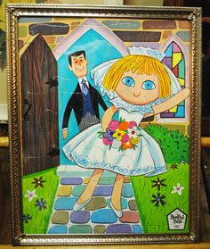 Hey, I found this really awesome Etsy listing at https://www.etsy.com/listing/241095400/1967-new-bride-peepul-pal-tray-puzzle