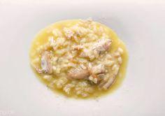 Arroz meloso de pil pil de cocochas de merluza de Kiko Moya | Gastronomía & Cía