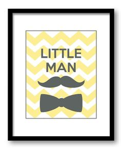 Hey, I found this really awesome Etsy listing at http://www.etsy.com/listing/169537467/yellow-grey-little-man-boy-art-nursery