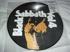 Black Sabbath -Vol 4- Awesome Rare Hard To Find Ltd Edition Picture Lp 2003 Mint
