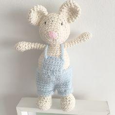 Las Marinas Crochet: Ratoncito en crochet