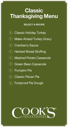 Classic Thanksgiving Recipes I Crate and Barrel