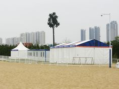 Event Tent for The Asian Beach Games