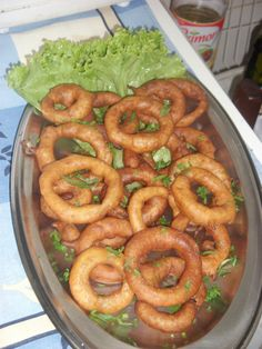 Onion Rings (anéis de cebola) com massa de cerveja | Frito | Receitas Gshow