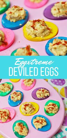 Eggxtreme Deviled Eggs - Perfect for Easter!