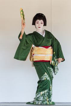 Umewaka during Nishijin Kimono and Obi Festival