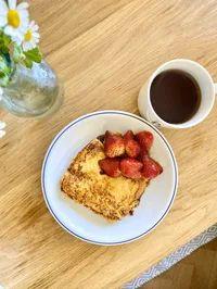 Mr. CHEESECAKEの田村シェフ考案!「人生最高のフレンチトースト」の作り方 - macaroni French Toast, Breakfast, Food, Morning Coffee, Meals, Morning Breakfast