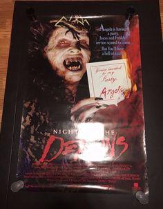 Night of the Demons ORIGINAL movie poster