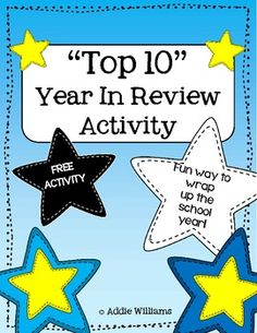 "FREE ""Top 10"" Year in Review Activity"