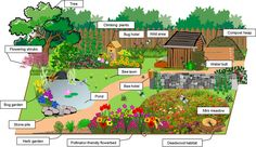 In our modern times, so many meadows and fields have been developed, it's hard to find wild places for animals to live. There are so many different ways to attract wildlife to your garden and… Compost, Bee Friendly Plants, Bog Garden, Garden Club, Plant Bugs, Bug Hotel, Good Environment, Flowering Shrubs, Flower Beds