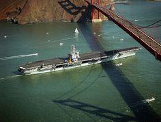 CVN-65 Golden Gate | File:USS Enterprise (CVN-65) passing under the Golden Gate Bridge - DN ...