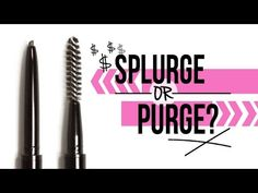 Splurge or Purge: Anastasia Brow Wiz vs. NYX Micro Brow Pencil | Makeup Geek | Makeup Geek - YouTube