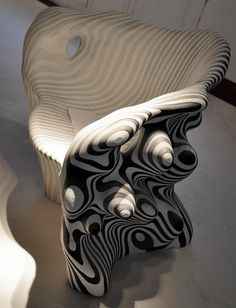 Slow Chair by Mathias Bengston 2010  recycled paper