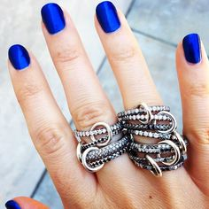 Really awesome looking rings.