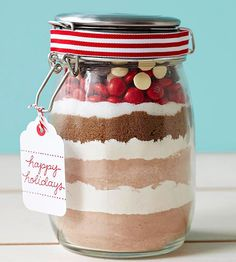 DIY Cookie Mix makes a fun hostess gift during the Christmas season.