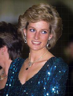 1986 04 14 Princess Diana & Prince Charles At Vienna's Burgh Theatre