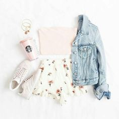 BlackButterfly Kinder 'Audrey' Vintage Daisy Kleid im - Cute Outfits With Shorts, Cute Teen Outfits, Teenage Girl Outfits, Cute Comfy Outfits, Girls Fashion Clothes, Teen Fashion Outfits, Mode Outfits, Stylish Outfits, Fashion Ideas