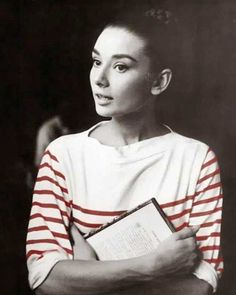 Get this shirt in our Audrey Hepburn Style Guide