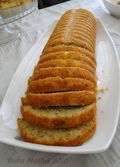 ✿ ❤ ♨ Tuzlu kek...// Malzemeler; 3 yumurta 1 tatlı kaşığı tuz 1 su bardağı yoğurt 2 adet orta boy patates 2 adet yeşil biber 1 çay bardağı beyaz peynir 3/4 su bardağı sıvı yağ 1 çay bardağı doğranmış yeşil veya siyah zeytin 1 yemek kaşığı kekik Az miktarda nane, maydanoz, dere otu 2 su bardağına yakın un Kabartma tozu...