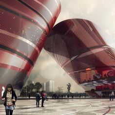 Cultural Complex Longgang District by Mecanoo | Iam Architect