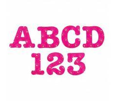 Sizzix Bigz Alphabet Set AllStar 1 1/2' - Faca com Alfabeto e Numerico completo  -