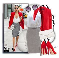 """""""SheIn 1 (2)"""" by penny325 ❤ liked on Polyvore featuring Elizabeth and James, Vera Bradley, Tamara Mellon and Sheinside"""