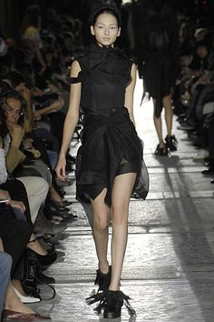 Rick Owens Spring 2007 Ready-to-Wear Collection Slideshow on Style.com