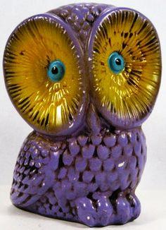 Vintage Owl, Retro Vintage, Owl Bags, Owl Ornament, Beautiful Owl, Owl Crafts, All Things Purple, Pet Birds, Decoration