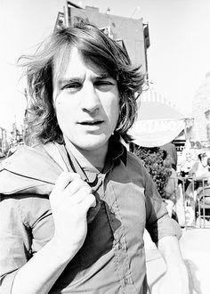 Robert De Niro posing for a portrait.  Ph: Santi Visalli, November 1973.