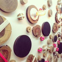this light/wood wall ++ julien lee ++ otis college of art  design senior exhibition {design juju . www.julienlee.com                                                                                                       18 likes                                                                              1 comment                                                                              42 repins…