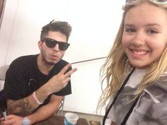 Took a selfie with Cole from Capital Kings❤️