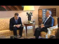 S.M. el Rey cierra su visita con una reunión con el Presidente de Portugal, Marcelo Rebelo de Sousa - YouTube