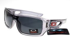 Oakley Dispatch Sunglasses White and Gray Frame Black Lens 0259